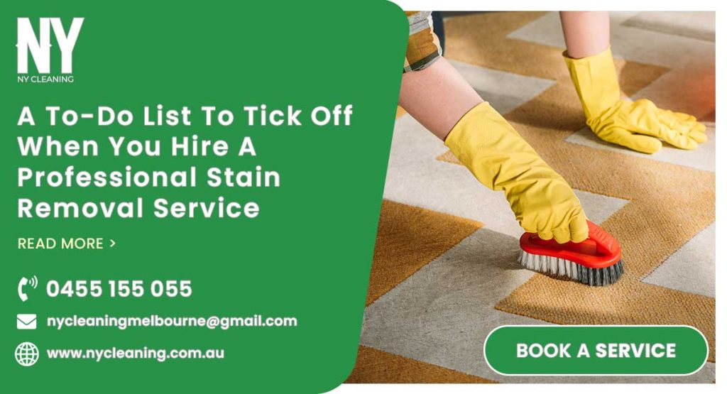 Stain Removal Service In Box Hill